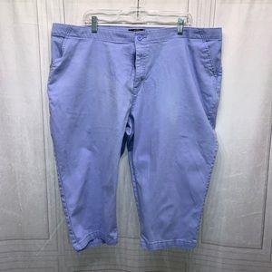 Riders By Lee Capris Pants Plus Size 24w